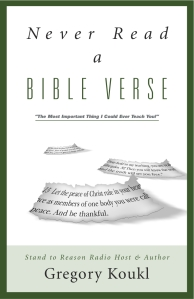 Weekend Resource: Never Read a Bible Verse
